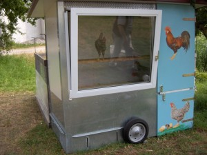 Fahrbarer Hühnerstall1