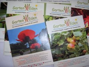 GartenWeden-Hefte