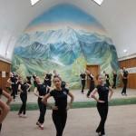 Tanzübungen Schetininschule