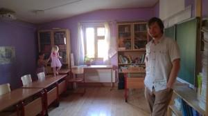 Die Schulzimmer der Siedlung in Kovcheg sind liebevoll von den Eltern gestaltet.